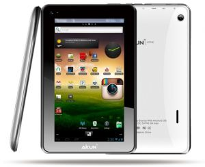 Acteck Aikun 7'', 4GB, 800 x 480 Pixeles, Android 4.0.4, WLAN, Blanco