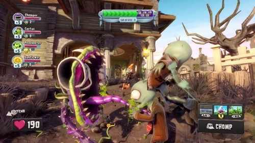 Plants Vs Zombies Garden Warfare Para Xbox 360
